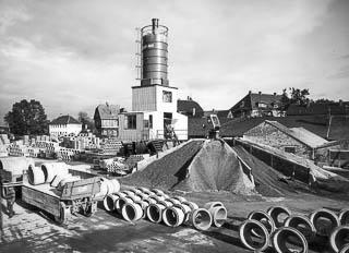 Betonmischturm, Betonwerk Paderborn