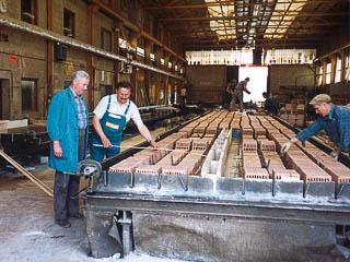 Ziegeldecken-Produktion in Bonenburg