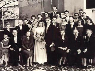 Foto Hochzeitsgesellschaft