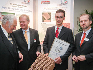 Preisverleihung Effizienz-Preis NRW 2005