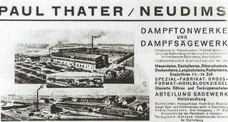 Ziegelwerk Paul Thater, Neudims in Ostpreußen