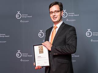Stephan Böddeker bei der Preisverleihung