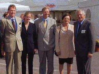 Stefan Thater, Angela und Joachim Thater Illa und Ulrich Thater anlässlich der 100-Jahr-Feier