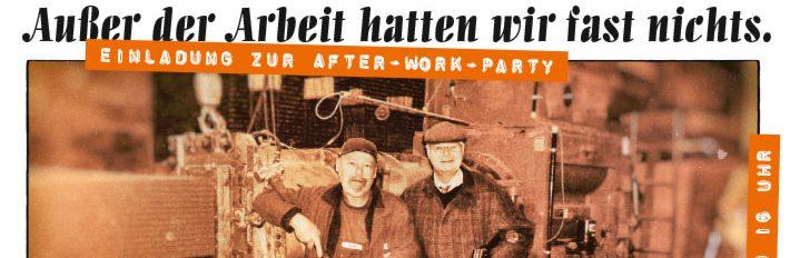 Die Einladungskarte zur Lücking After-Work-Party 2017