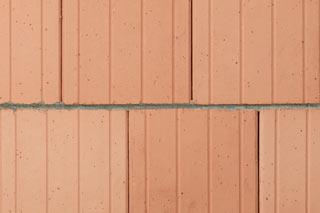 Ansicht Blockziegelmauerwerk