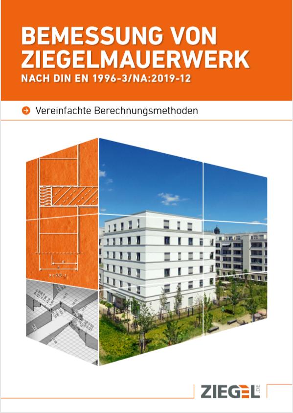 Prospekttitel: Bemessung von Ziegelmauerwerk nach DIN EN 1996-3/NA